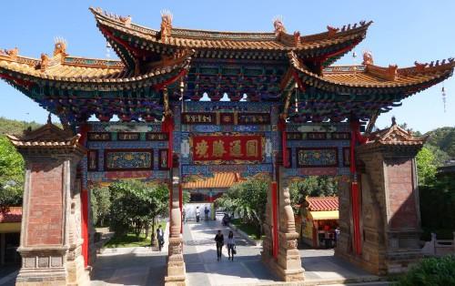 20130928_kunming_yuan_tong_tempel_eingang