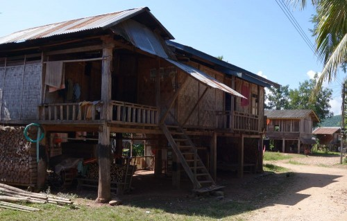 Typische Wohngebäude.